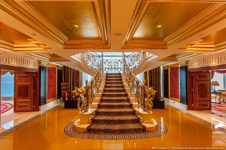 Самый дорогой гостиничный номер в семизвездочном отеле Burj Al Arab (47)