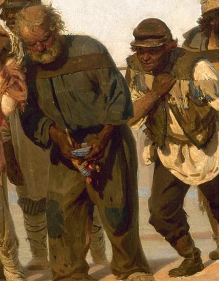 Бурлаки на Волге — кто все эти люди (6)