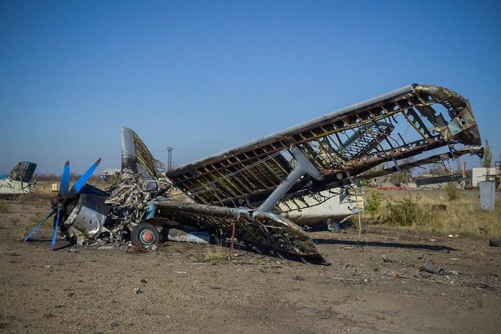 Аэропорт Луганска, наши дни (7)