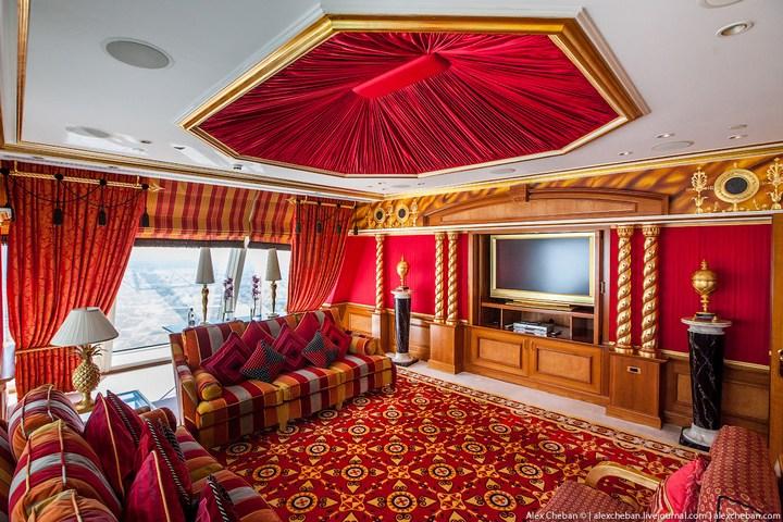 Самый дорогой гостиничный номер в семизвездочном отеле Burj Al Arab (44)