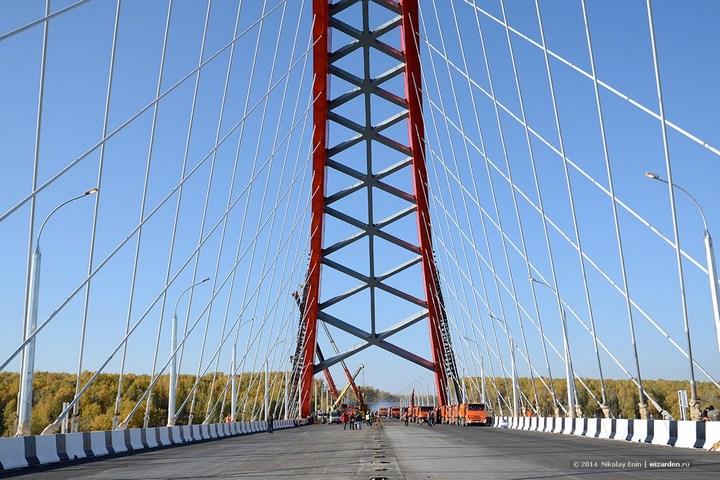 Как проверяют мост на прочность (9)
