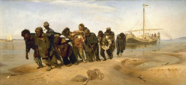 Бурлаки на Волге — кто все эти люди (12)
