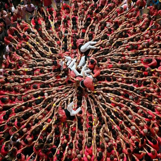 Замки из людей. Соревнование в Таррагоне 2014 (13)