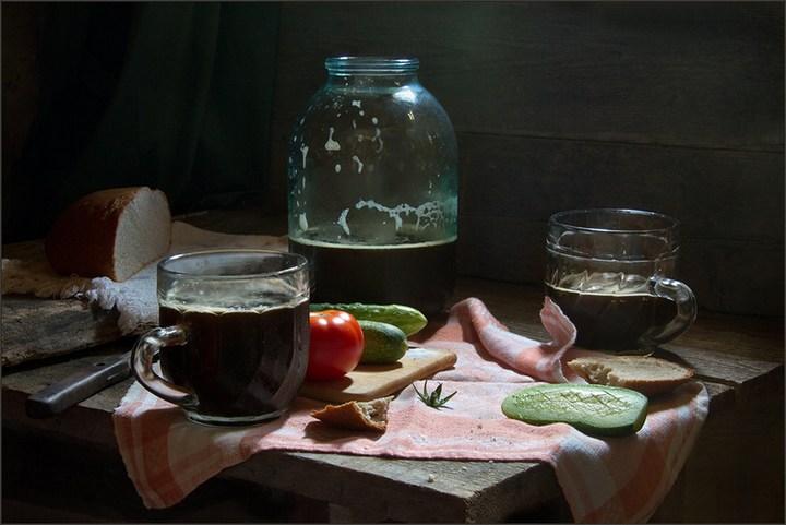 Ностальгические советские натюрморты Александра Сенникова (26)
