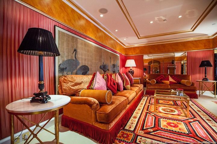 Самый дорогой гостиничный номер в семизвездочном отеле Burj Al Arab (39)