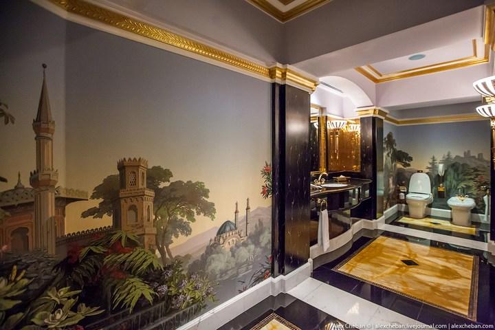 Самый дорогой гостиничный номер в семизвездочном отеле Burj Al Arab (38)