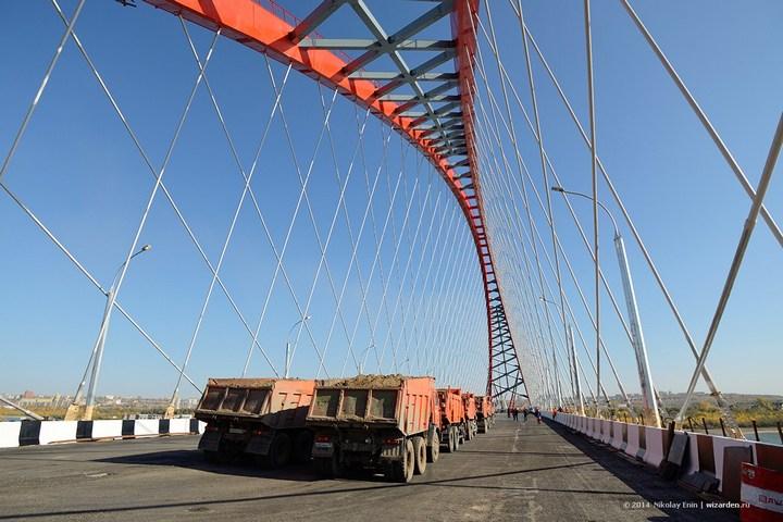 Как проверяют мост на прочность (16)