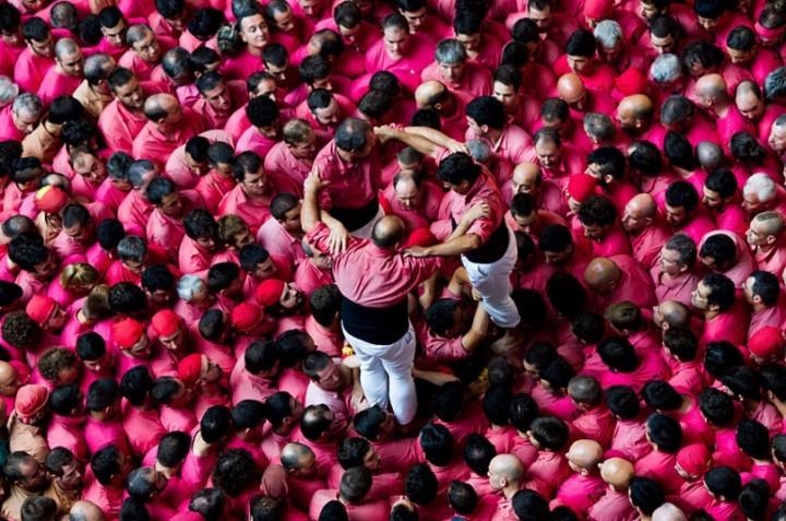 Замки из людей. Соревнование в Таррагоне 2014 (21)