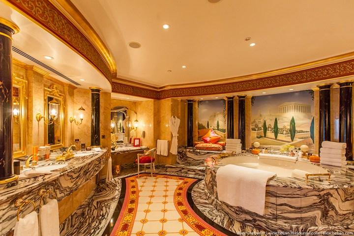 Самый дорогой гостиничный номер в семизвездочном отеле Burj Al Arab (26)