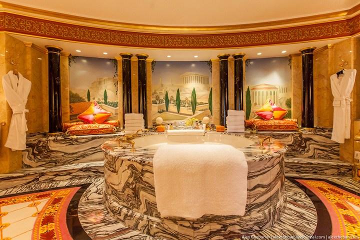 Самый дорогой гостиничный номер в семизвездочном отеле Burj Al Arab (22)