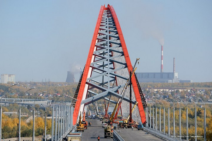 Как проверяют мост на прочность (34)