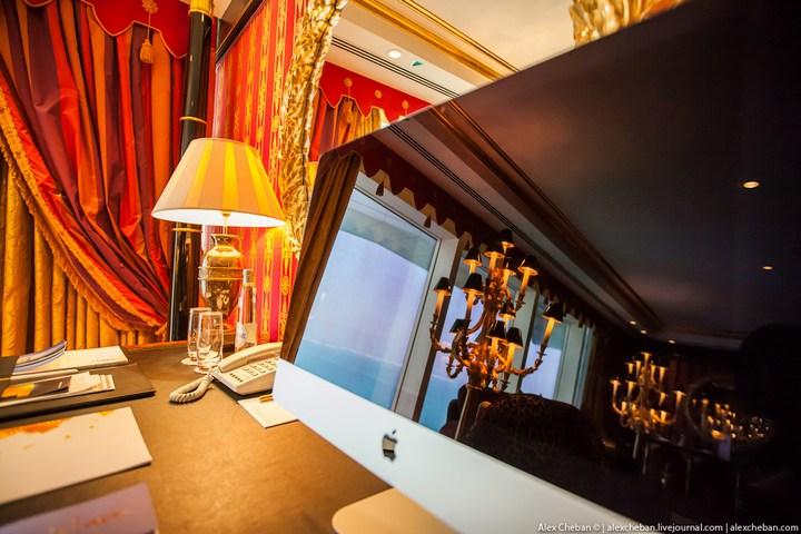 Самый дорогой гостиничный номер в семизвездочном отеле Burj Al Arab (14)