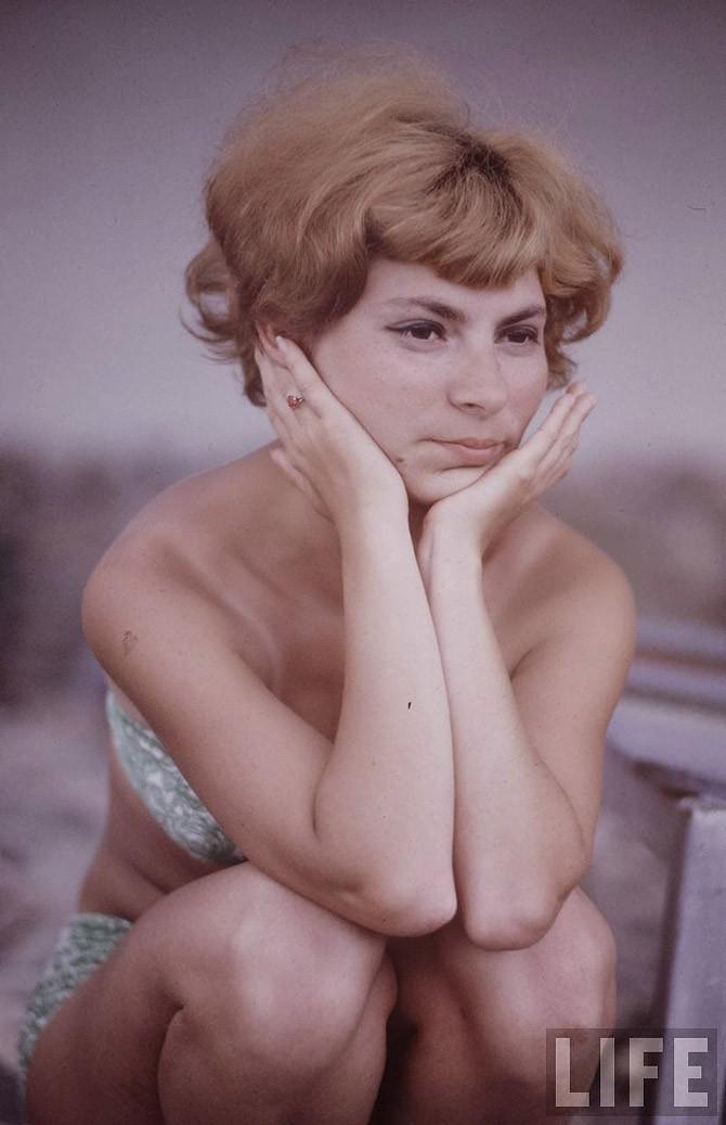 Советские пляжные фотографии 1967 года (18)