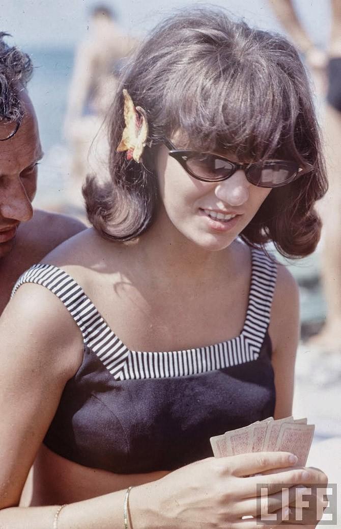 Советские пляжные фотографии 1967 года (16)