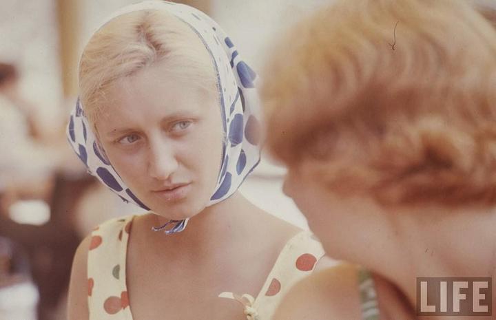 Советские пляжные фотографии 1967 года (14)
