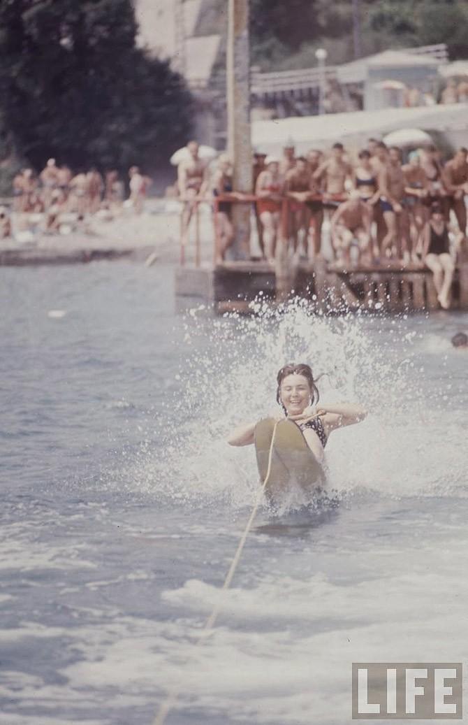 Советские пляжные фотографии 1967 года (12)