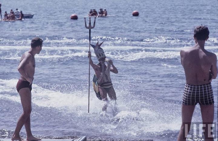 Советские пляжные фотографии 1967 года (11)