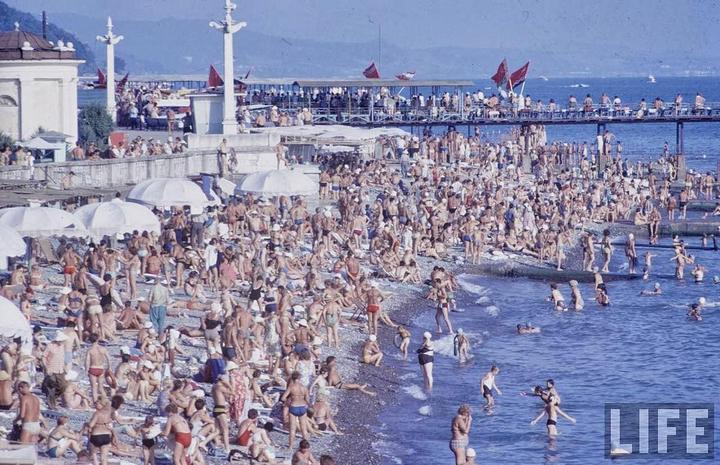Советские пляжные фотографии 1967 года (5)