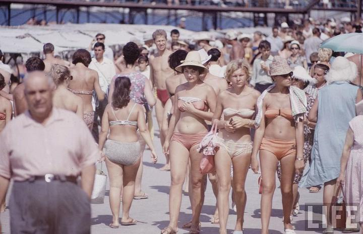 Советские пляжные фотографии 1967 года (4)
