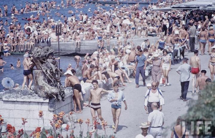 Советские пляжные фотографии 1967 года (2)