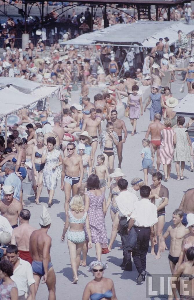 Советские пляжные фотографии 1967 года (1)
