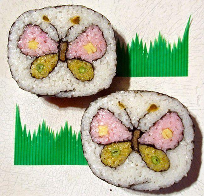 Как сделать необычные суши и роллы (31)