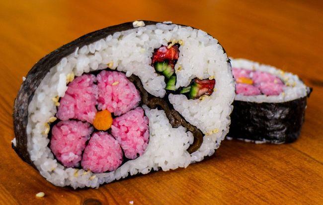 Как сделать необычные суши и роллы (23)