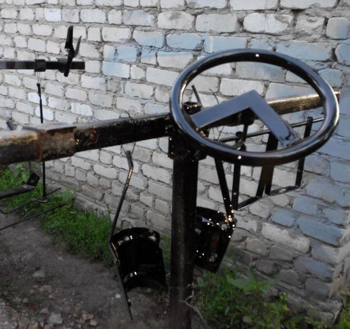 """Восстановление детской машины """"Стрела"""" (8)"""