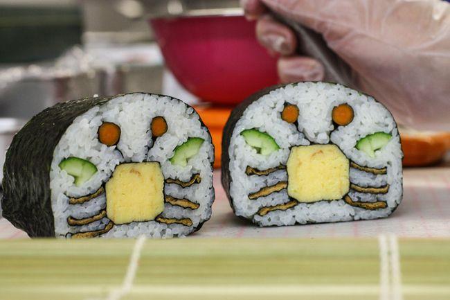 Как сделать необычные суши и роллы (12)