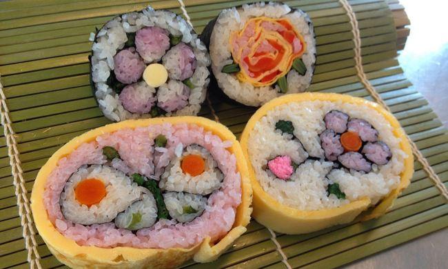 Как сделать необычные суши и роллы (14)