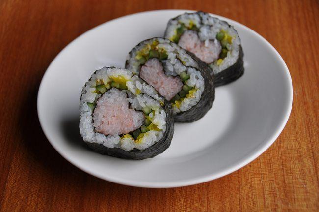 Как сделать необычные суши и роллы (20)