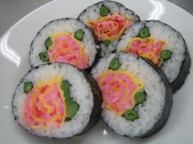 Как сделать необычные суши и роллы (8)