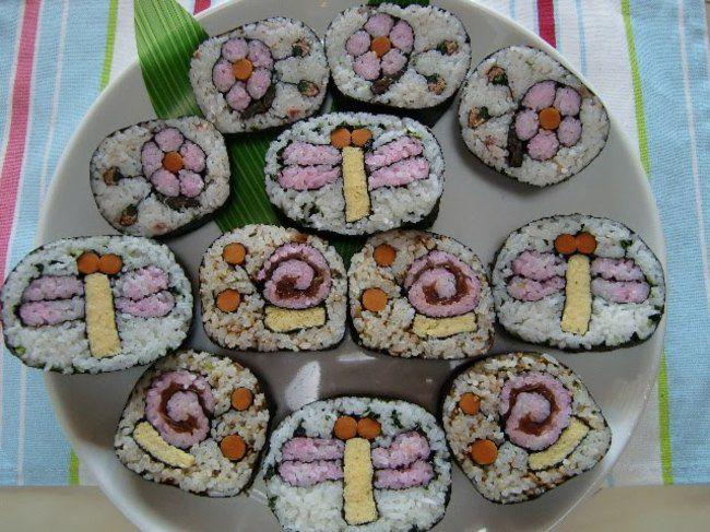Как сделать необычные суши и роллы (7)