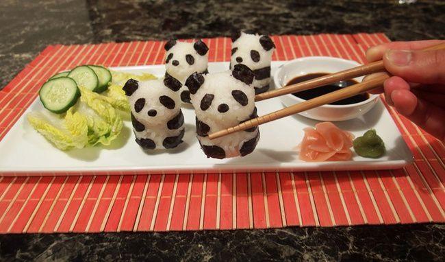 Как сделать необычные суши и роллы (2)
