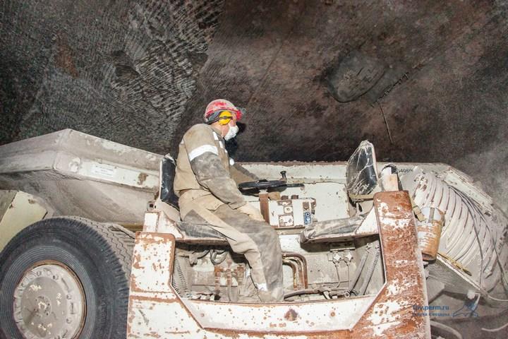 Как добывают калий (калийный минерал, сильвенит) (10)