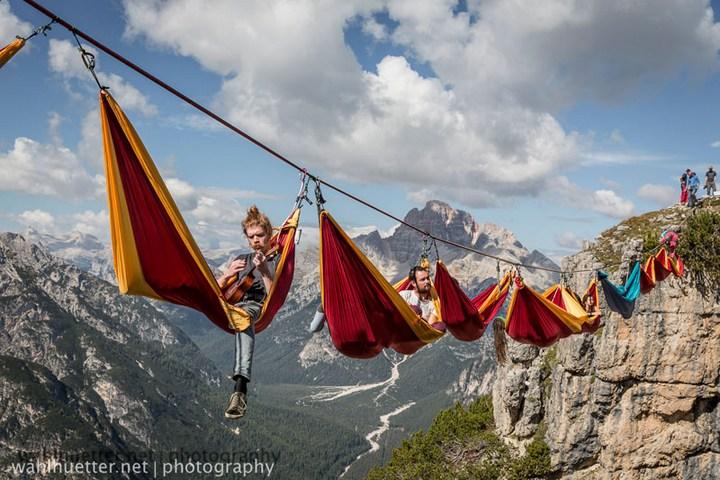 Экстремальный фестиваль в Альпах (1)