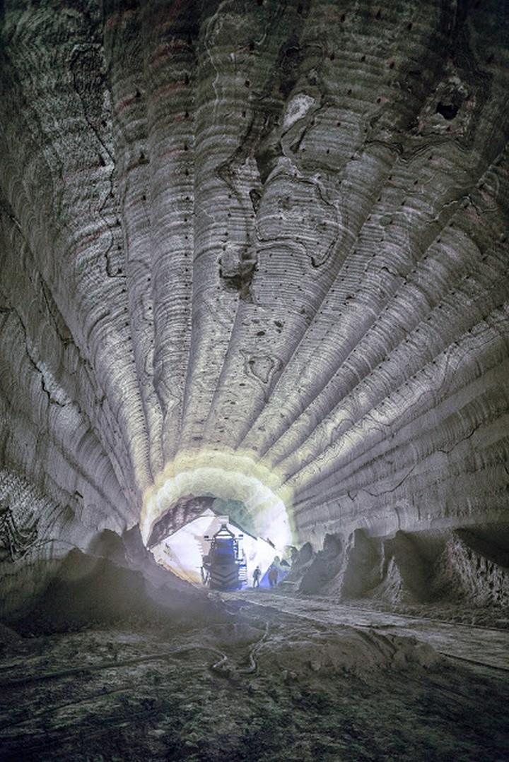 Как добывают калий (калийный минерал, сильвенит) (14)