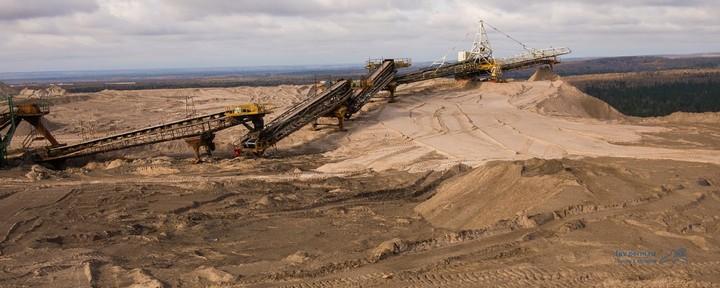 Как добывают калий (калийный минерал, сильвенит) (23)