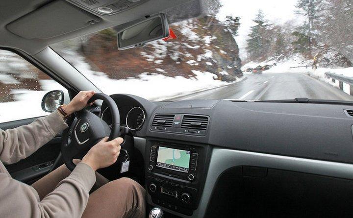 Правила вождения машины зимой (2)