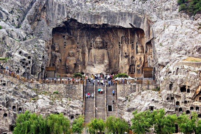 Лунмэнь – каменные пещеры у Драконовых ворот (1)
