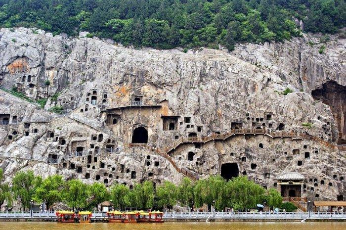 Лунмэнь – каменные пещеры у Драконовых ворот (2)