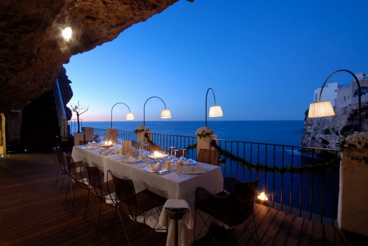 Grotta Palazzese — ресторан в скале с потрясающим видом (2)
