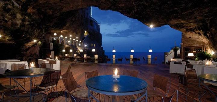 Grotta Palazzese — ресторан в скале с потрясающим видом (3)