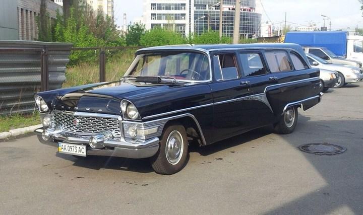 """Редчайший универсал ГАЗ-13С: """"Черная врачиха"""" (1)"""
