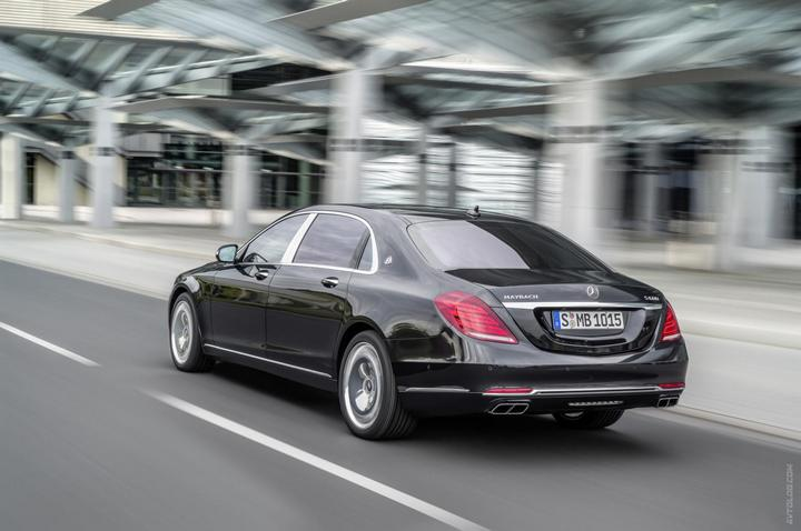 Mercedes-Maybach 2015. Сколько стоит самый тихий автомобиль в мире? (1)