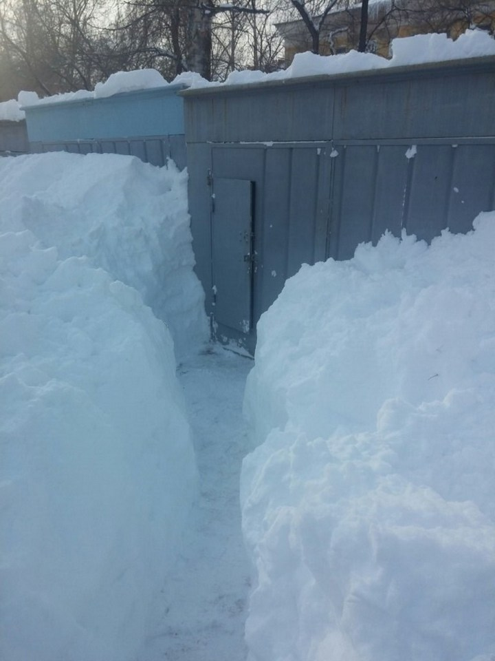 Хабаровский край засыпало снегом (10)