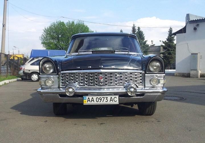 """Редчайший универсал ГАЗ-13С: """"Черная врачиха"""" (4)"""
