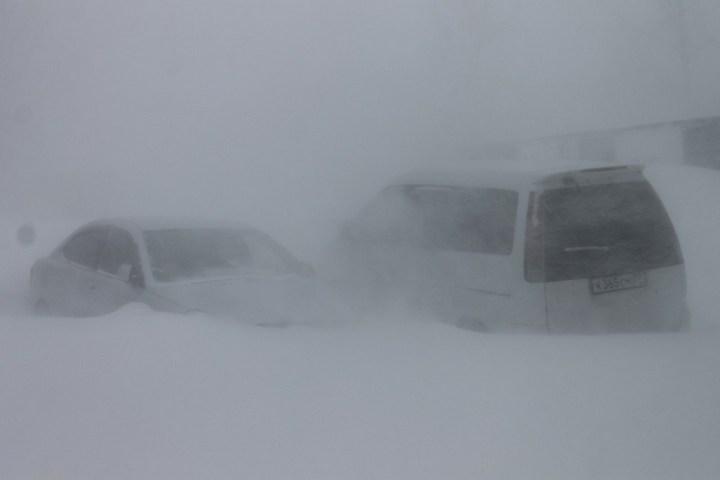 Хабаровский край засыпало снегом (9)