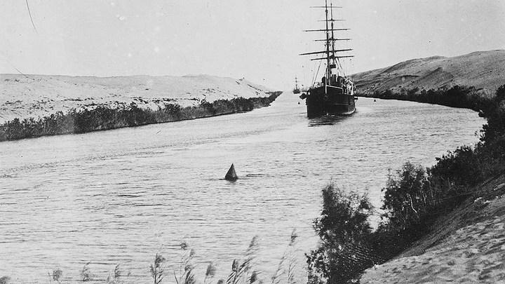 Как строили Cуэцкий канал (5)