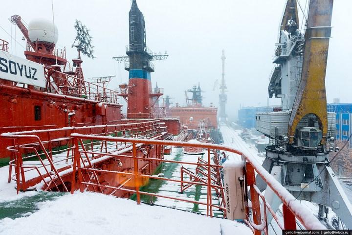 Атомные ледоколы России (6)